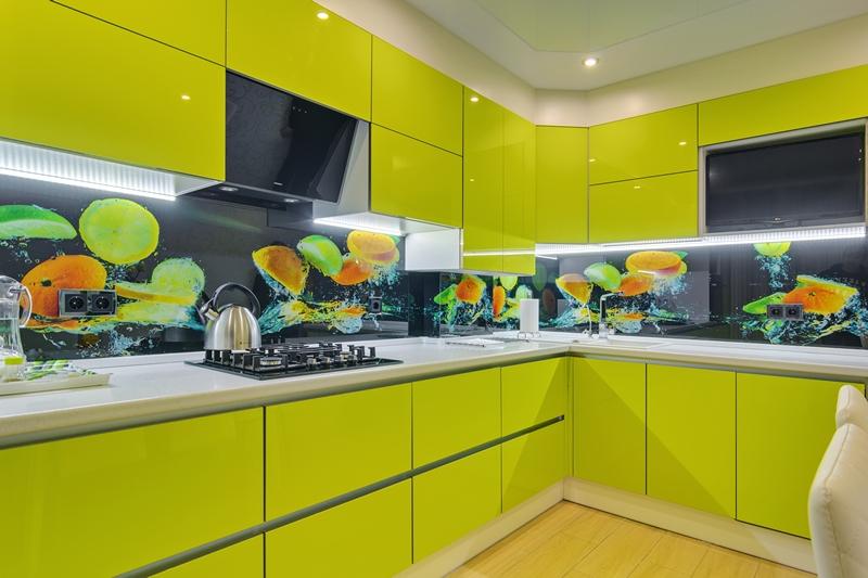 кухни на заказ в калининграде глянцевая кухня в современном стиле