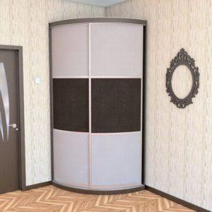 Радиусный шкаф купе на заказ в Калининграде