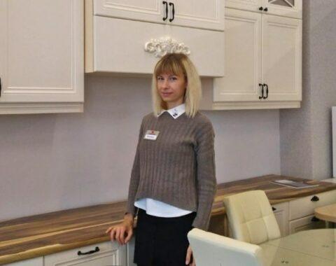 Евгения - дизайнер салона Магия кухни
